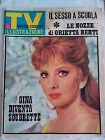 tv sorrisi e canzoni 12 1967 lollobrigida berti lupo rocco negra popoff garinei