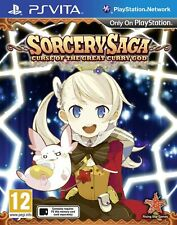 Sorcery Saga Curse of the Great Curry God PS Vita Playstation Video Game UK Rele
