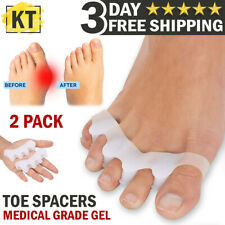 Toe Separators Straightener Medical Gel Bunion Corrector Toes Spacer Pain Relief