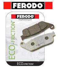 TRIUMPH Bonneville 800 T100 2002-Trasera Ferodo eco-Fricción Pastillas De Freno FA165
