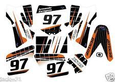 NG racing KTM SX50 SX 50 XC Adventurer Jr Sr Motocross Graphic Kit 2002 2008