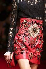 Dolce Gabbana Jewel Embellished Skirt UK10-12 IT44 RRP11000GBP  New Dress