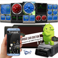 ELM327 OBDII WiFi Car Engine Fault Code Reader Auto Diagnostic OBD2 Scan Tool