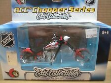 NHL OCC Chopper, Die Cast Motorcycle, Ottawa Senators, MIB, New, 1:18