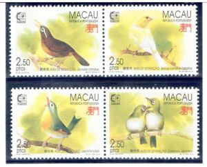 MACAO 1995 Singapore'95 (Birds)