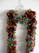 Hand KNITTED RUFFLE SCARF Fashion Starbella WOMEN'S ACCESSORY circus
