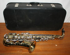 Vintage Amati Kraslice Super Classic Saxophone, Gold w/ Case, Czechoslovakia