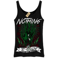 Nothing To Lose T-Shirt zombie hand Vest Womens