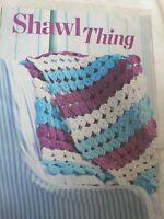 Shawl Crochet Pattern Magazine Extract