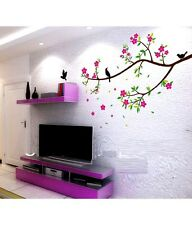 Asmi Collection Flower Tree Branches PVC Wall Stickers Wall Decals 1010