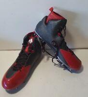 NEW Adidas Crazyquick 2.0 High Wide 2  Black/Red Football Cleats Mens Q16435