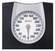 Sunbeam Home Dial Body Weight Floor Scale Bathroom Monitor Health Diet Control