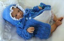 c5bc5f9a4fc5 Baby Knitting Pattern DK 78 TO KNIT Girls or Reborn Dolls Matinee Set  Aithwen