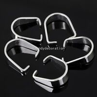 Silver Stainless Steel Pendant Pinch Clip Clasp Bail Connector 9*7mm Wholesale