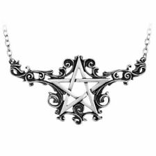 Alchemy Pentagram Talismanik Pendant Necklace Five Pointed Gothic Alternative