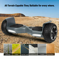 8.5'' Hummer All-Terrain Off Road Hoverboard Self Balancing Scooter UL2272 Gray