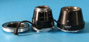 3x Olympus A10-M2 Halogen Adapter+Pen F Medical SF33E Adapter+42mm Lens Adapter