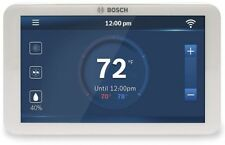 Bosch Thermostat 24-Volt 7-Day Programmable Built-in Wi-Fi Touchscreen White