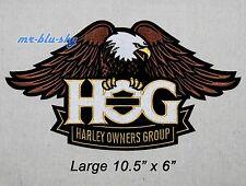 Large Eagle Patch ~ Harley Davidson Owners Group HOG H.O.G.