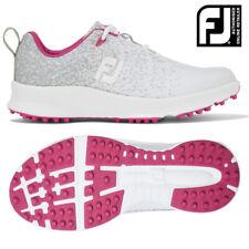 FootJoy FJ Leisure Ladies Golf Shoes Silver/White/Fuschia - NEW! 2020 *REDUCED*