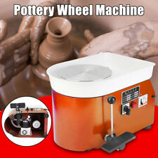 Electric Pottery Wheel Machine 220V 250W Ceramic Work Clay Art Craft 25CM DIY AU