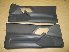 93-95 Camaro Z28 Door Panels Gray/Graphite Cloth PW LH RH Pair 0304-15