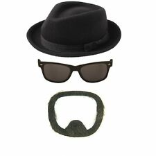 FANCY DRESS HAT SUNGLASSES BEARD HEISENBERG HALLOWEEN FANCY DRESS COSTUME