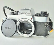 Rolleiflex SL35 E (Chrome) Film Camera with Body Cap