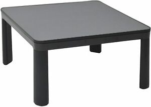Yamazen kotatsu 75cm square top surface reversible black SEU-752 B07MZVD369 山善