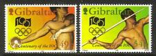 GIBRALTAR MNH 1994 SG730-731 CENTENARY OF INT OLYMPIC COMMITTEE SET OF 2