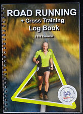 Running Log Books.Road Running and Cross Training Log Book by J & S Essential...