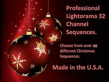 New 2017 Lightorama 32 channel sequences! Plug and Play! 10 for only $70.00