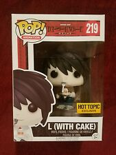 FUNKO POP ANIMATION SERIES L (with Cake) SHINEN JUMP DEATH NOTE HOT TOPIC EXCL