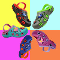 Kids Girls Boys Cute Clogs Summer Cartoon Sandals Slip On Slippers Water Shoes