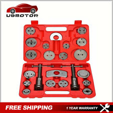 New 22Pcs Universal Disc Brake Caliper Brake Piston Wind Back Rewind Hand Tools