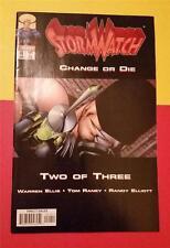 STORM WATCH COMIC SUPER HEROES No 49 JUNE IMAGE COMICS * CHANGE or DIE 2 of 3