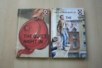 2 (TWO) LADYBIRD HARDBACK BOOKS THE QUIET NIGHT IN + THE HANGOVER