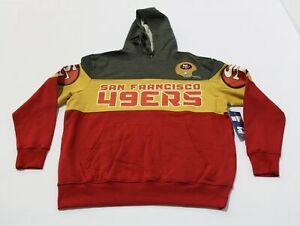 San Francisco 49ers Men's Starter Hoodie SV3 Multicolor Size XL NWT