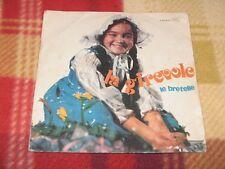 """LA GIREVOLE / LE BRETELLE Edizioni Paoline F-CV 45.73 LP 7"""""""
