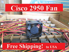 Cisco C2950C-24 Catalyst Switch Replacement (1 new fan), WS-C2950C-24, 2950C
