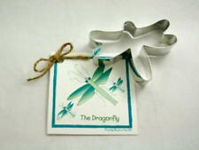 Ann Clark DRAGONFLY Tin Plated Steel Cookie Cutter W/Recipe  USA