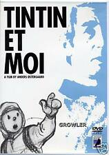TINTIN ET MOI DVD - RARE HERGE FILM DOCUMENTARY INTERVIEW - TIN I AND ME MOVIE