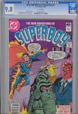 New Adventures of Superboy #2 CGC 9.8 '80 Comic: Price Drop!