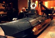 Biber Midget Submarine Beaver Mahogany Kiln Dry Wood Model Large New