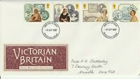 8 SEPTEMBER 1987 VICTORIAN BRITAIN ROYAL MAIL FIRST DAY COVER DONCASTER FDI