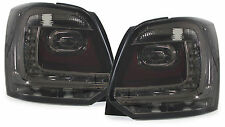 Black smoked finish LED tail lights rear lights for VW Polo V 6R from 09