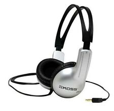 Koss UR-10 Over the Head Cable Headphones - Silver