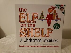 New Original BOY Elf on the Shelf A Christmas Tradition Book and Elf complete