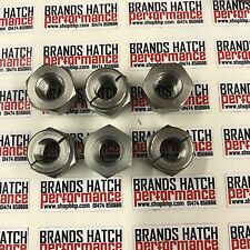 6 X Ford Sierra and Escort RS Cosworth Stainless Self Locking Exhaust Nuts