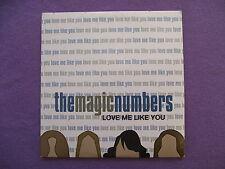 The Magic Numbers - Love Me Like You. Promo CD Single